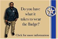 Do you have what it takes to wear the badge (Careers)
